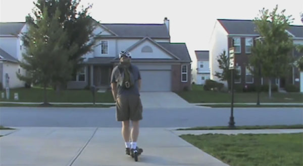 Know-Ped Kick Scooter Video Review