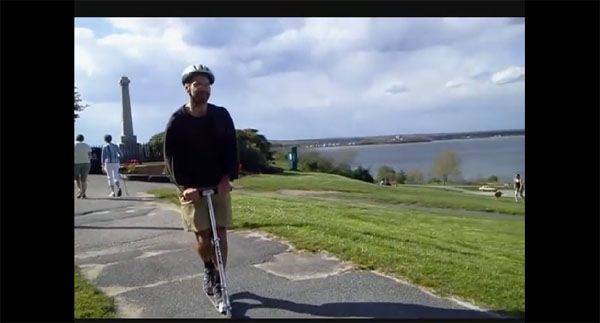 Razor A4: Best ADULT Kick Scooter Video Review