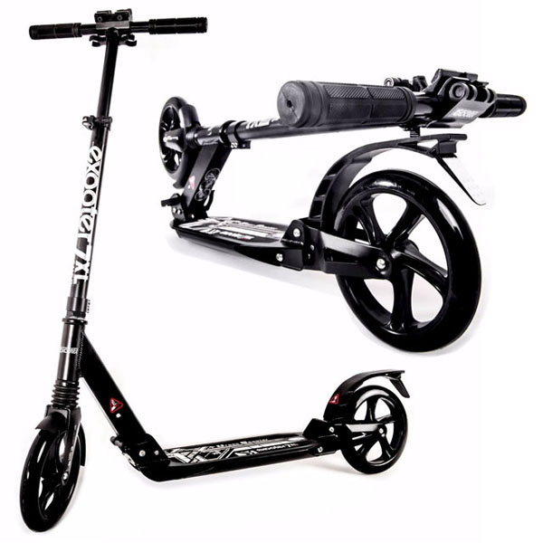 Exooter M1050bk Foldable Teen and Adult Cruiser Kick Scooter Review