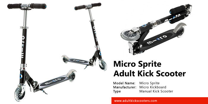 Micro Sprite Adult Kick Scooter Review