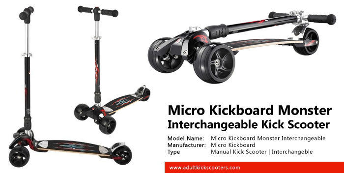 Micro Kickboard Monster Adult Kick Scooter Review