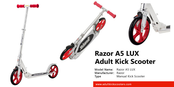 Razor A5 LUX Adult Kick Scooter Review