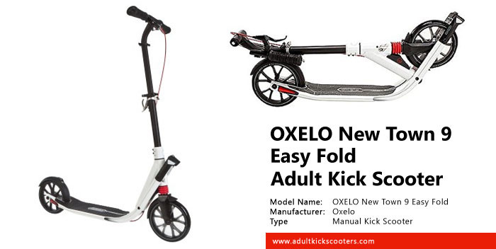 OXELO New Town 9 Easy Fold Adult Kick Scooter Review