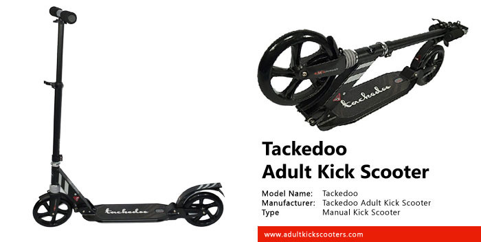 Tackedoo Adult Kick Scooter Review