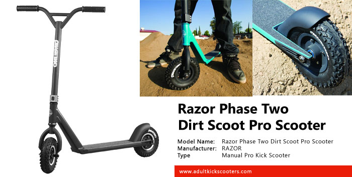 Razor Phase Two Dirt Scoot Pro Scooter Review