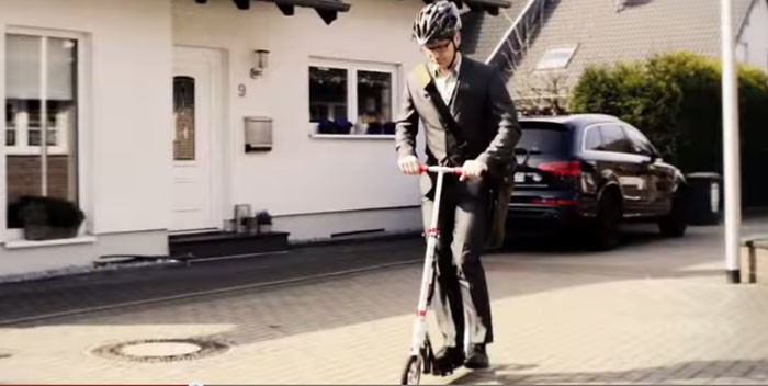HUDORA Big Wheel Scooter for Teens and Adults