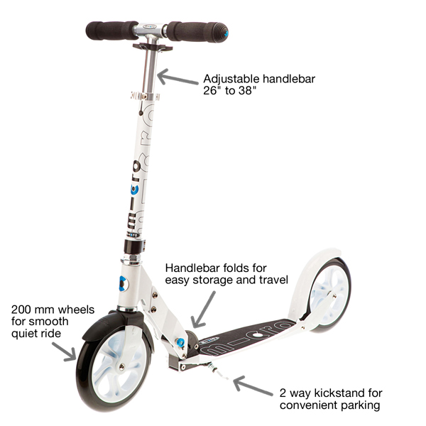 Micro White Kick Scooter Review