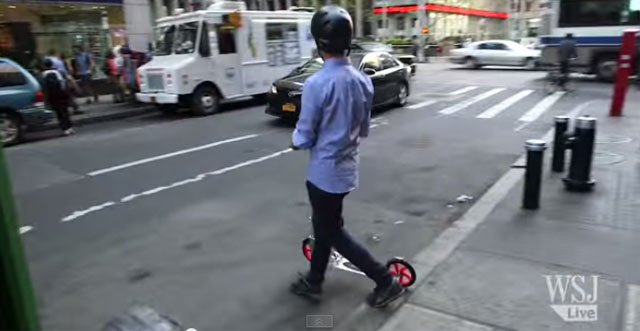 Confessions of a Grown-Up Kick-Scooter Rider by WSJ Reporter - Michael Hsu