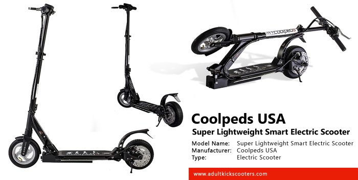 Coolpeds Usa Super Lightweight Smart Electric Scooter Review