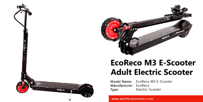 EcoReco M3 E-Scooter Electric Scooter Review