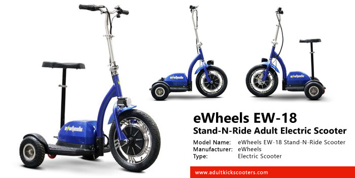 eWheels EW-18 Stand-N-Ride Adult Electric Scooter Review