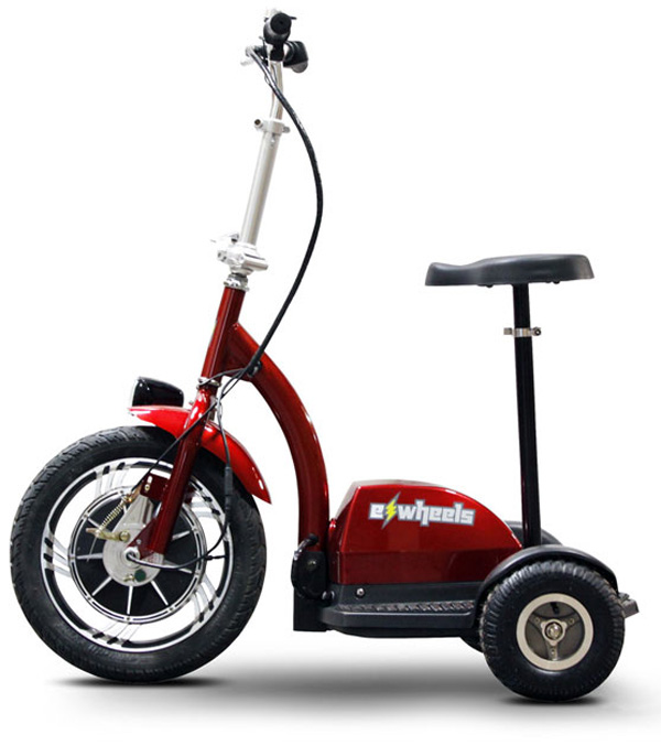 ewheels ew 18 stand n ride adult electric scooter review. Black Bedroom Furniture Sets. Home Design Ideas
