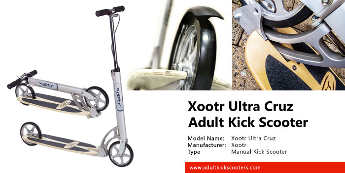 Xootr Ultra Cruz Adult Kick Scooter Review