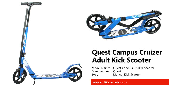 Quest Campus Cruizer Deluxe Aluminum Folding Scooter Review