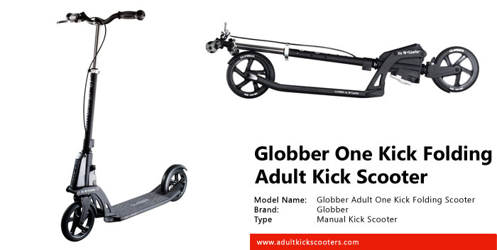 Globber Adult One Kick Folding Scooter Review