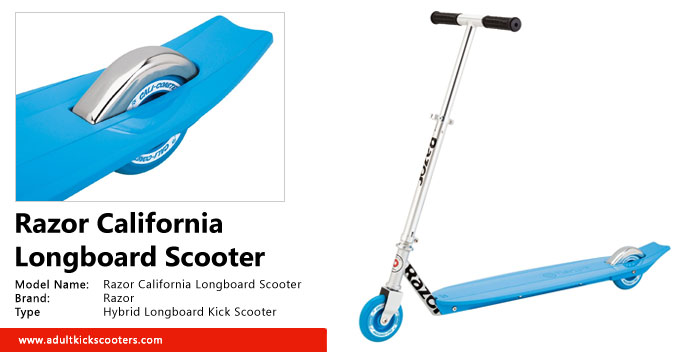 Razor California Longboard Scooter Review