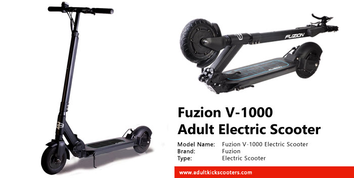 Fuzion V-1000 Electric Scooter Review
