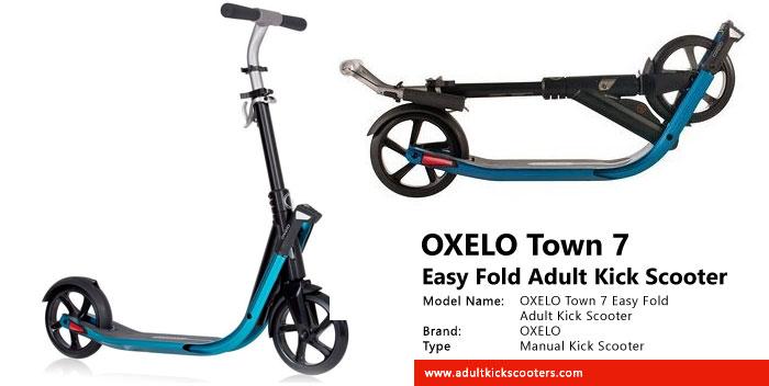 инструкция Oxelo Town 7 - фото 6