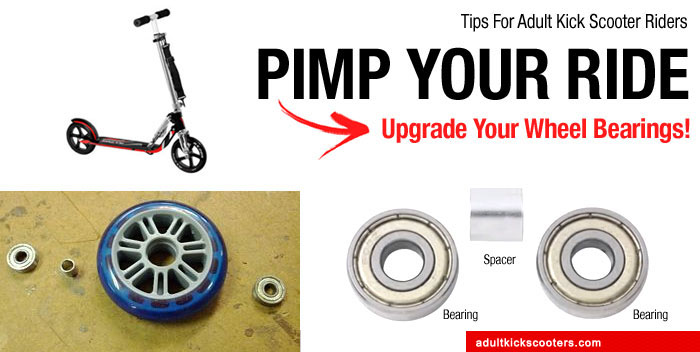 Pimp Your Ride: Change The Bearings On Your Scooter Wheels