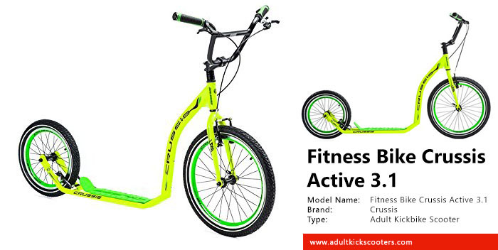 Fitness Bike Crussis Active 3.1 Review