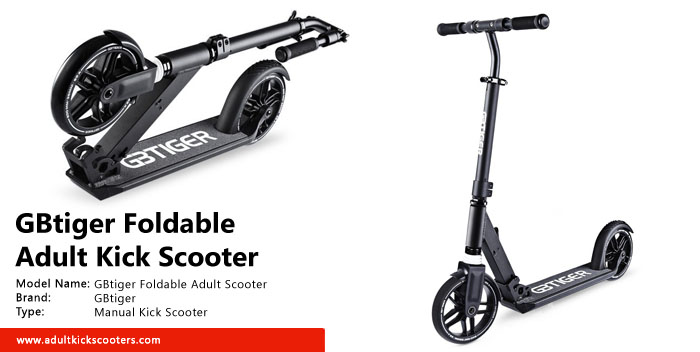 GBtiger Foldable Adult Scooter Review