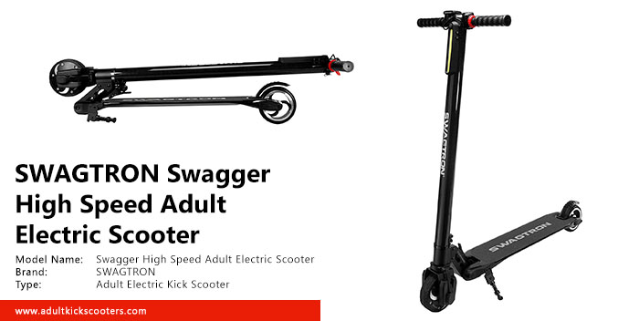 SWAGTRON Swagger High Speed Adult Electric Scooter Review