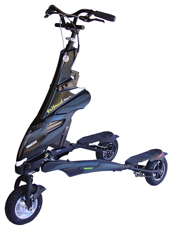 trikke 48v deluxe electric scooter review. Black Bedroom Furniture Sets. Home Design Ideas
