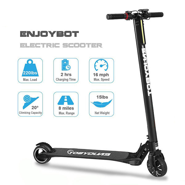 Enjoybot Electric Scooter Review Adultkickscooters Com