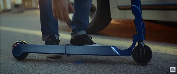 Hyundai Motor S Ioniq Scooter Reel By Hyundaiworldwide
