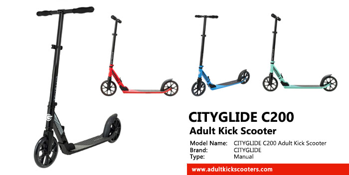 CITYGLIDE C200 Adult Kick Scooter