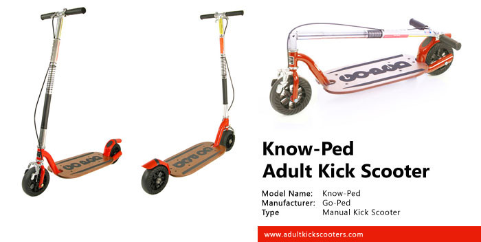 Know-Ped Kick Scooter Review