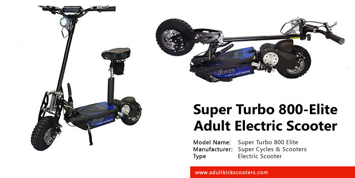 Super Turbo 800 Elite Electric Scooter Review