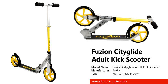 Fuzion Cityglide Adult Kick Scooter Review