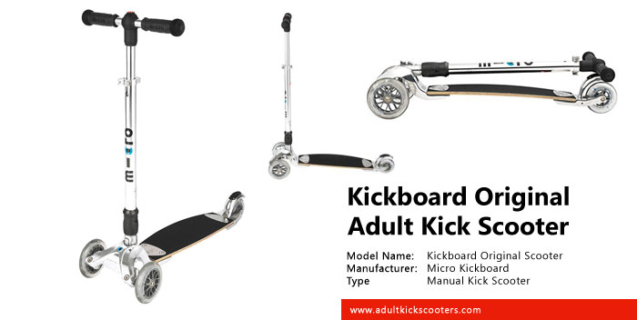 Kickboard Original Scooter with Interchangeable Handlebar