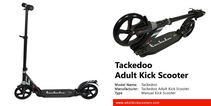 Tackedoo Adult Kick Scooter Review