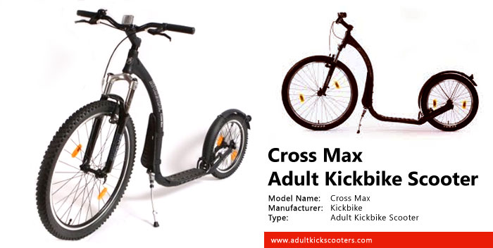 Cross Max Kickbike Scooter Review   adultkickscooters com