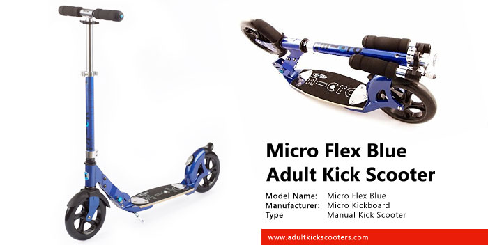 Micro Flex Blue Adult Kick Scooter Review