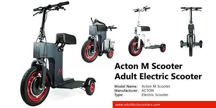 Acton M Electric Scooter Review