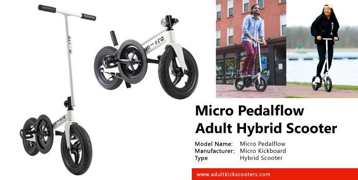 Micro Pedalflow Scooter Review