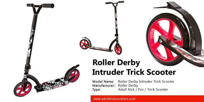 Roller Derby Intruder Trick Scooter Review