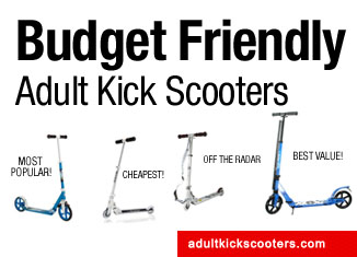 Cheap Kick Scooters For Adults