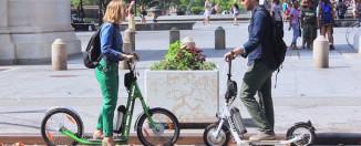 Zumaround Electric Hybrid Kick Scooters Video Reel