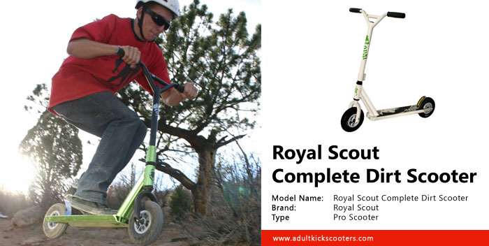 Royal Scout Complete Dirt Scooter Review