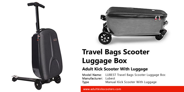 LUBEST Travel Bags Scooter Luggage Box Review