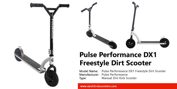 Pulse Performance DX1 Freestyle Dirt Scooter Review