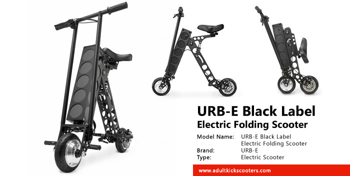 Urb E Black Label Electric Folding Scooter Review