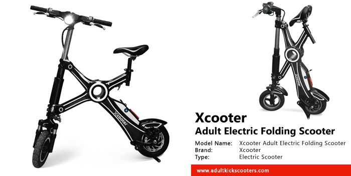 Xcooter Adult Electric Folding Scooter Review