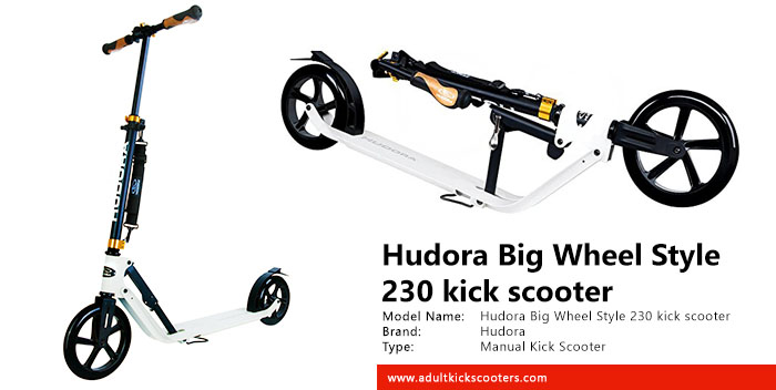Hudora Big Wheel City Style 230 Kick Scooter Review