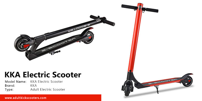 KKA Electric Scooter Review | adultkickscooters com